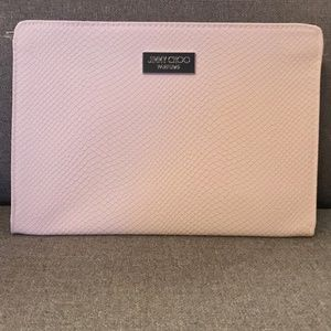 Jimmy Choo Parfums Pink Clutch Bag